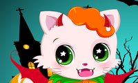 Click Here to Play Halloween Kitty Cat !