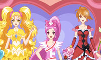 Click Here to Play Pretty Cure 4 !