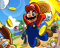 Play Mario Basketball