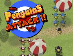 Play Penguins Attack TD
