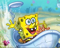 Play SpongeBob Bathtime