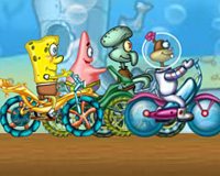 Play Sponge Bob Cycle Rac...