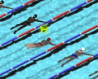 Play Swimming race