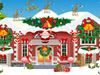 Play Christmas House Decoration