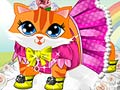 Play Cute Kitty Dress Up