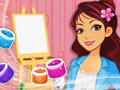 Jugar a Artesanas de Betsy: pintura en arena