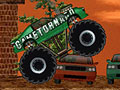 Joue  Monster truck destructeur