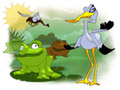 Play Frogs vs. Storks