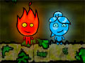 Jugar a Nio fuego y nia agua: templo agreste