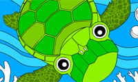 play Rosy Coloring: Turtle a…