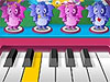 Jugar a Piano de tus Amigos Peludos
