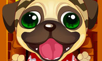 Jugar/Play Cute Christmas Puppy