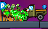 Cars vs. Zombies Game : Vent your zombie-apocalypse frustrations on the walking dead, because...well...they're already dead.
