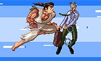 Play Mad Karate Man Games