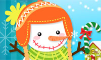 Play Cute Snowman Games