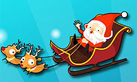 crazy santa racer