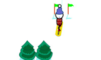 Snowboard Slalom Xtreme