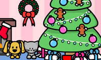 Play Make a Scene: Christmas Room Games
