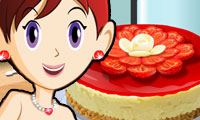 Game Berry Cheesecake: Sara's Cooking Class
